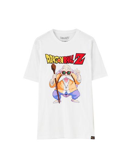 T-shirt do Dragon Ball Z com Roshi