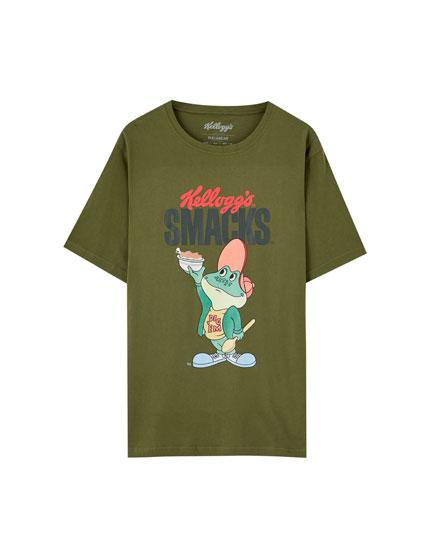 T-shirt de Smacks em verde