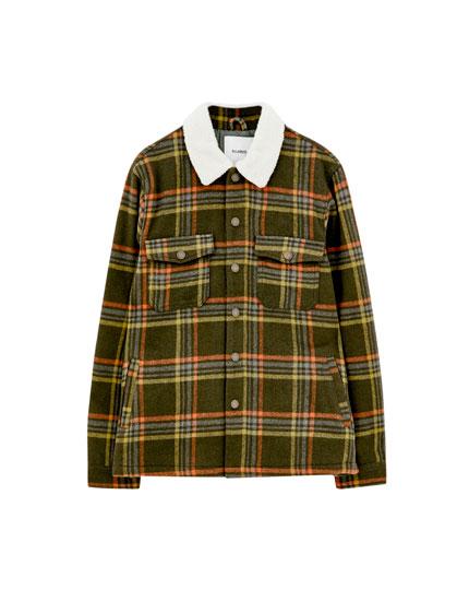 Ternet skjortejakke