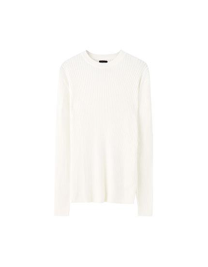 Basic ribbed sweater