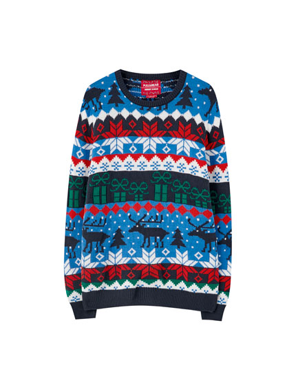 Gift box sweater