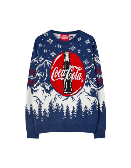 Coca-Cola bottle sweater