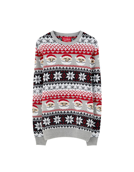 Santa Claus Jacquard sweater