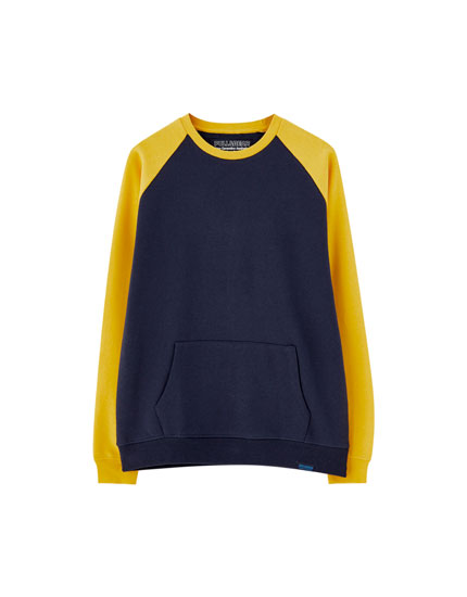 Sweat manches raglan