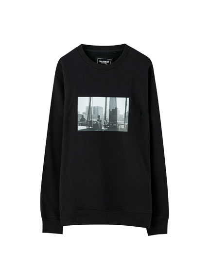 Black city sweatshirt