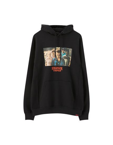 Sweat noir Stranger Things 3