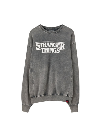 Sweatshirt de Stranger Things 3 com logótipo