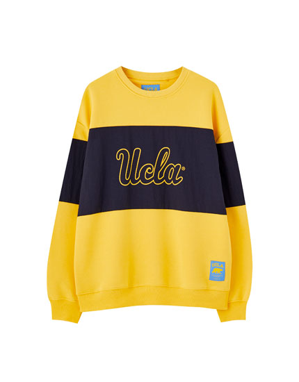 Sweat UCLA by Pull&Bear jaune