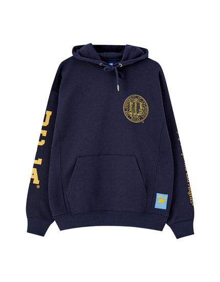 UCLA x Pull&Bear seal hoodie