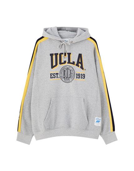 Худи UCLA x Pull&Bear с полосами