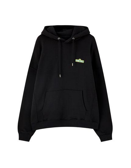 Black Sesame Street hoodie
