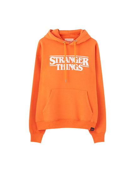 Coloured Stranger Things 3 hoodie