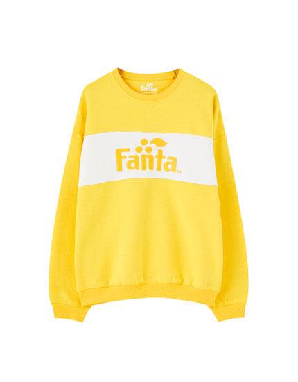 Yellow Fanta sweatshirt