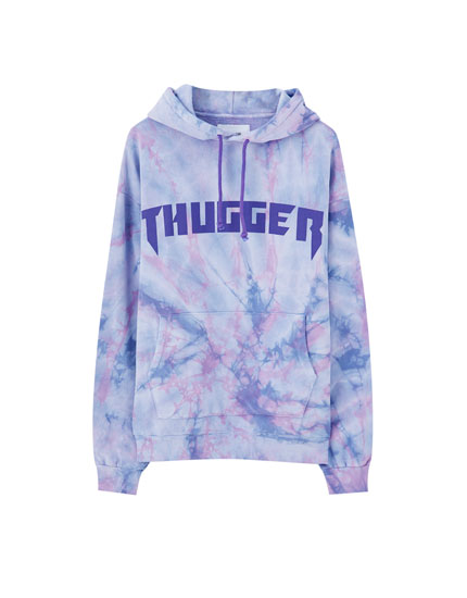 Sudadera tie-dye thugger