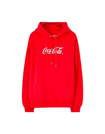 Sweat Coca-Cola rouge