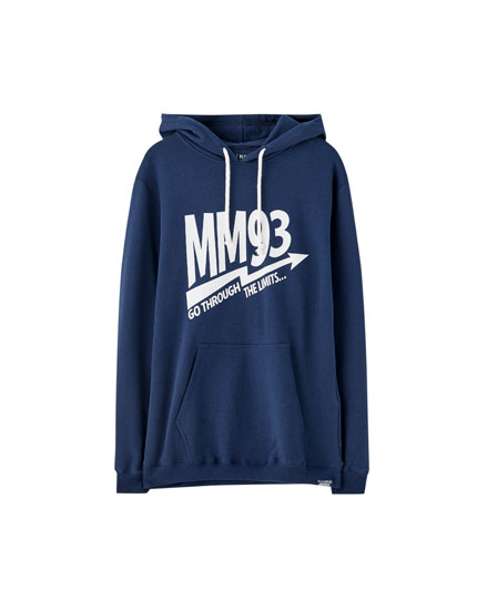 Marc Márquez hoodie with a drawstring hood