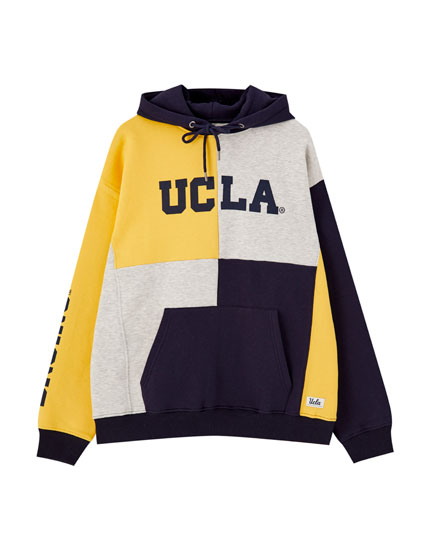 Coloured UCLA x Pull&Bear hoodie