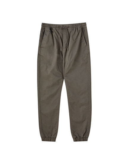 Jogging beach trousers with taping