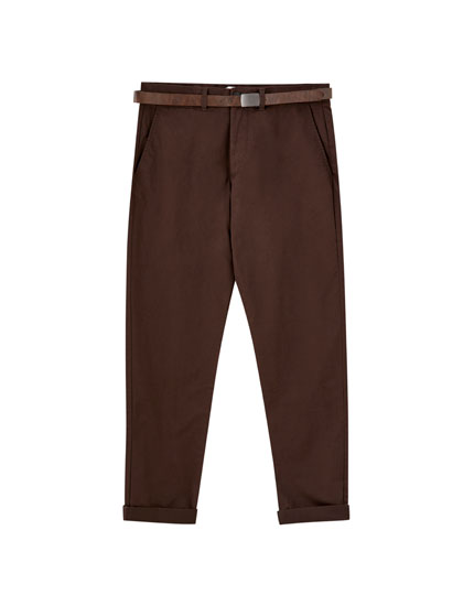Pantalón chino smart skinny fit