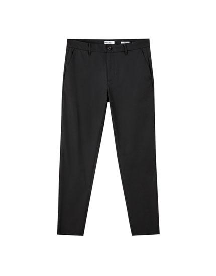 Pantalón chino básico color