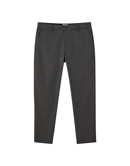 Basic fitted chinos