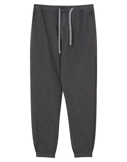 Pantalón beach jogging algodón
