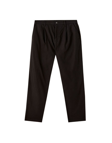 Ripstop chino trousers