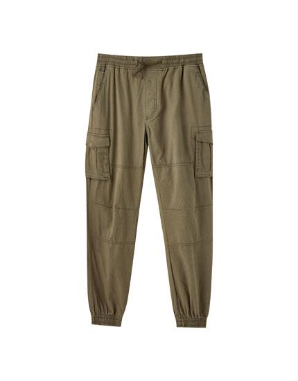 Pantalón jogging cargo bolsillos
