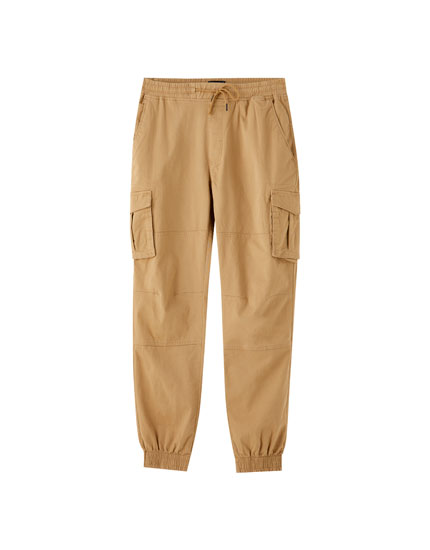 Cargo jogging trousers with pockets