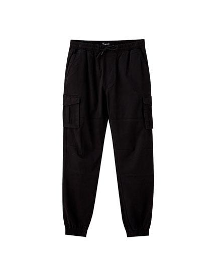 Pantalons jòguing de càrrega amb butxaques