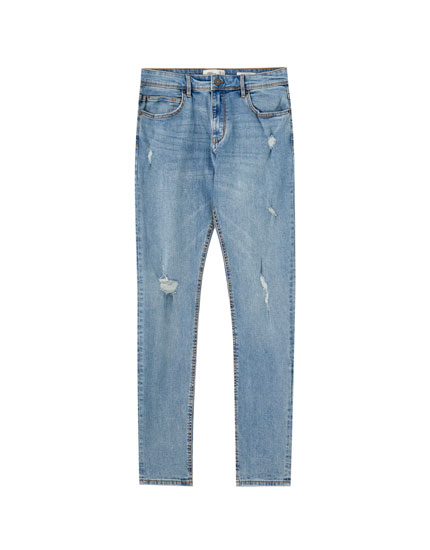 Jeans super skinny rotos