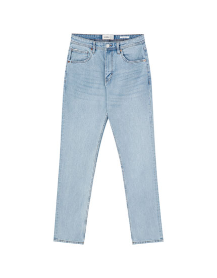 Blue regular comfort fit jeans