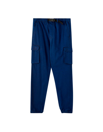 Ripstop cargo beach trousers