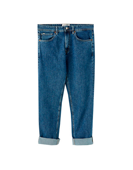 Jeans regular confort fit escuros