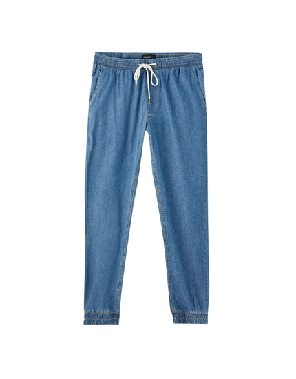 Jeans tipo jogger