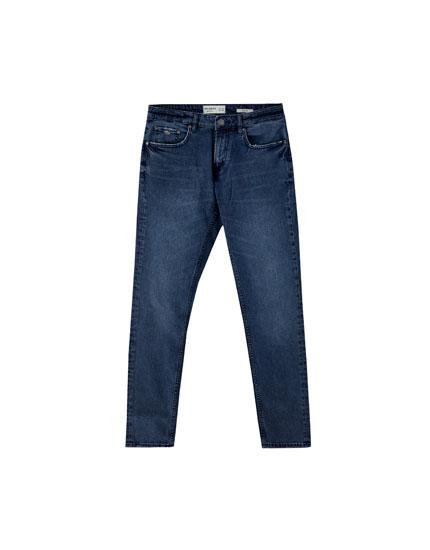 Jeans slim comfort fit azul oscuro