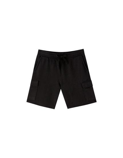 Cargo Bermuda jogging shorts
