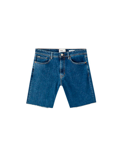 Regular comfort fit Bermuda shorts