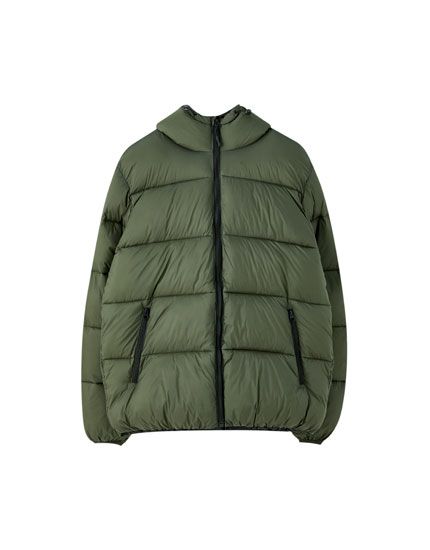 Ripstop puffer jacket