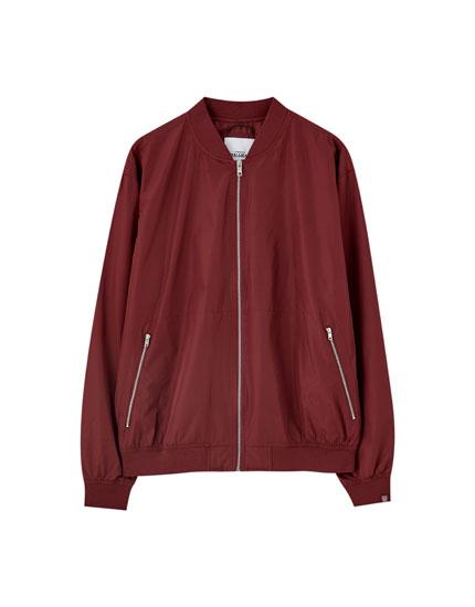 Lightweight bomber jacket