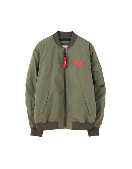 Stranger Things 3 bomber jacket