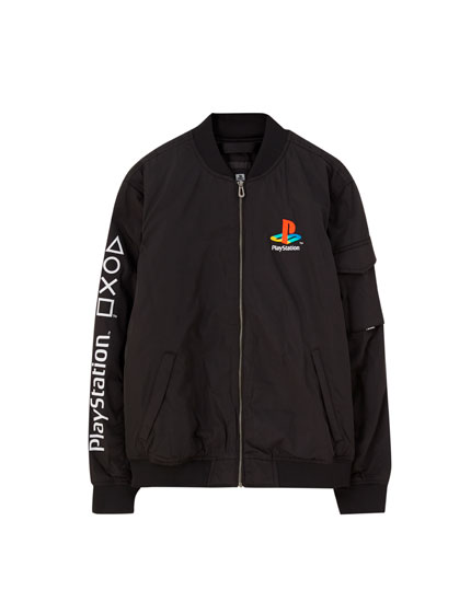 Cazadora bomber PlayStation
