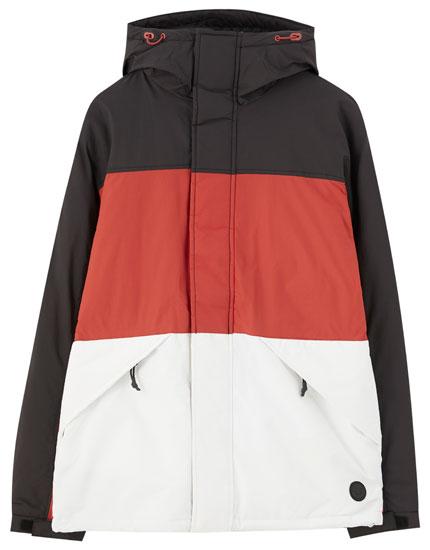 men 39 s puffer jackets autumn winter 2019 pull bear. Black Bedroom Furniture Sets. Home Design Ideas
