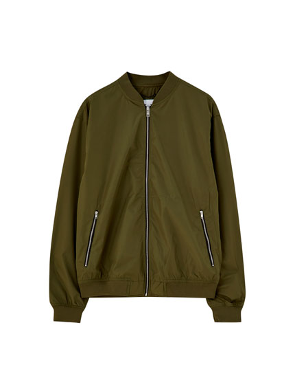 Basic lightweight bomber jacket