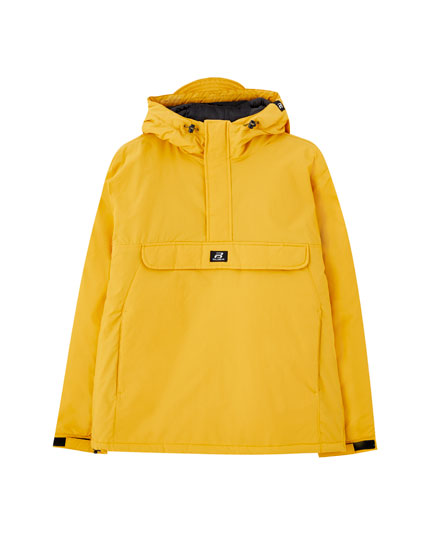 Basic anorak jacket with logo