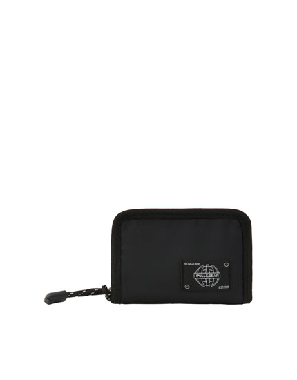 Cartera nylon monedero