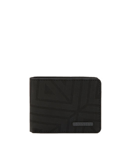 Wallet with geometric design