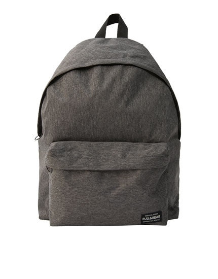 Basic logo backpack