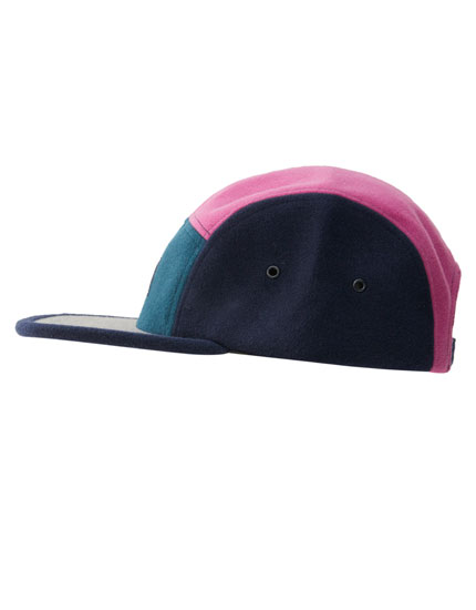 Contrast five-panel cap