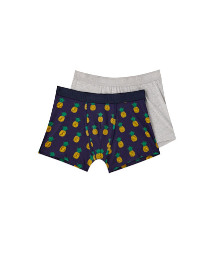 Two-pack of pineapple boxers